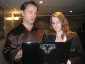 Me and David Nykl at Scifi on the Rock