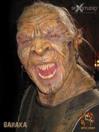 Fraser Aitcheson as Baraka on Mortal Kombat: Legacy