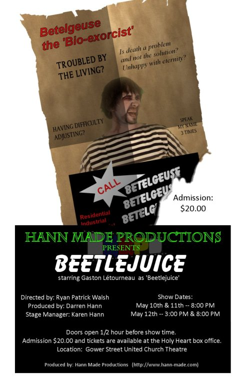 Beetlejuice - Hann-Made Productions