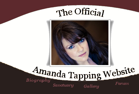 Click to visit The Official Amanda Tapping Website