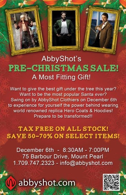 AbbyShot's Pre-Christmas Sale